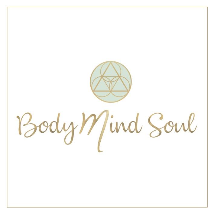 """Logo und Schriftzug """"Body Mind Soul"""""""
